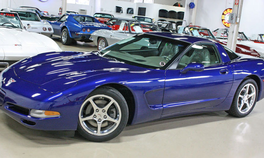The Final Corvette C5 Ever Built Will Set You Back $1 Million