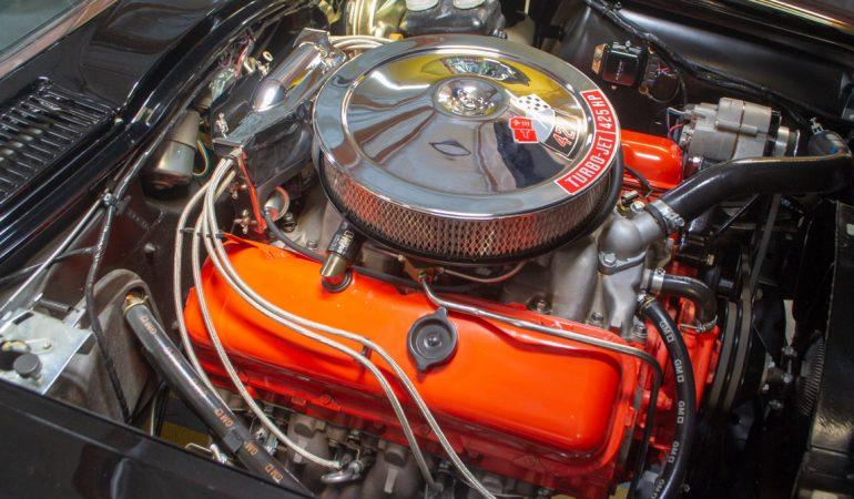1966 black 427 corvette convertible 0748