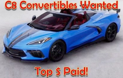 C8 Convertibles Wanted!