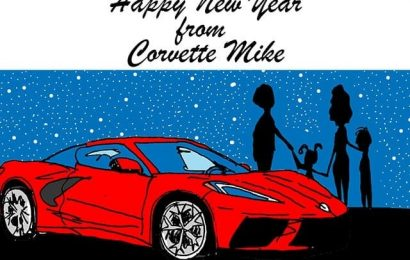 Happy New Year's from the Corvette Mike Team!