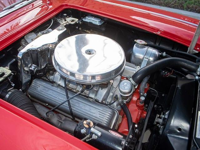 1062 red corvette 340hp engine 1