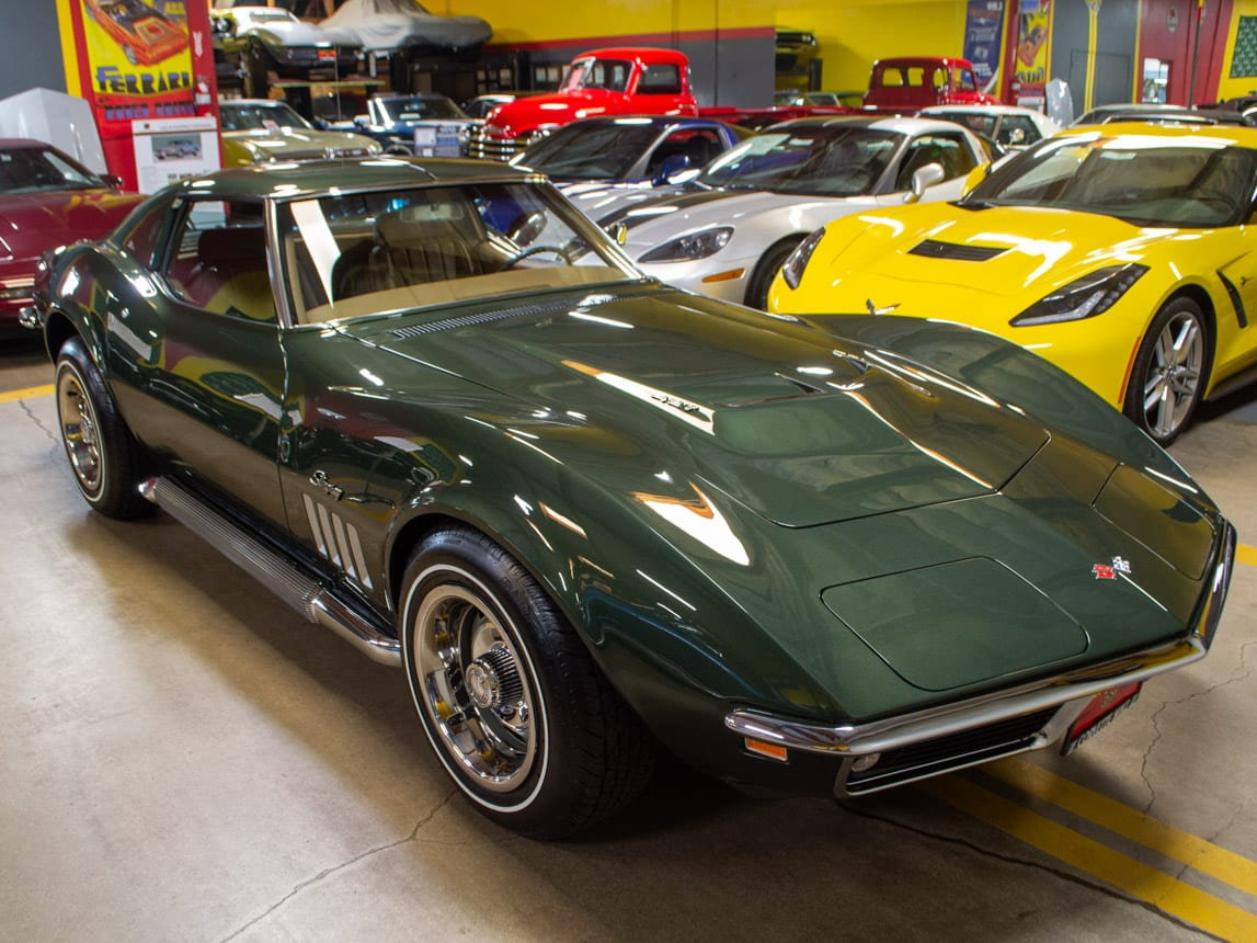 1969 Green Corvette L71 Coupe 0213