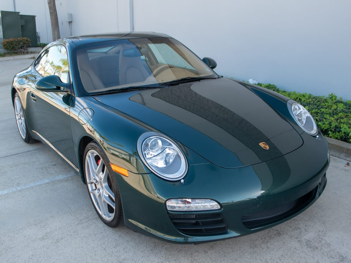 2009 Green Porsche 911 Carrera S 0054