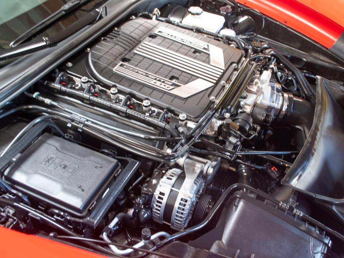 2015 Red Corvette Z06 0713 1