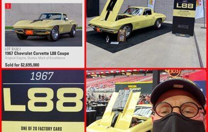 1967 L88 Sells at Mecum Auctions