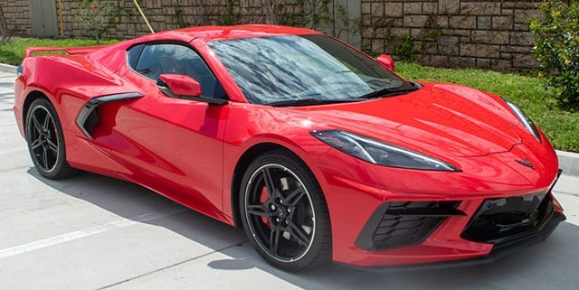 2020 red c8 corvette coupe 2lt z51 exterior 1