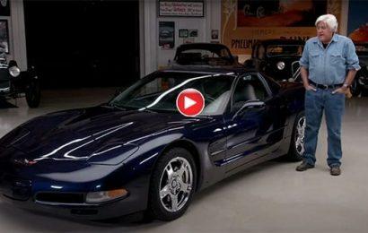 Jay Leno talks about his 1999 Corvette