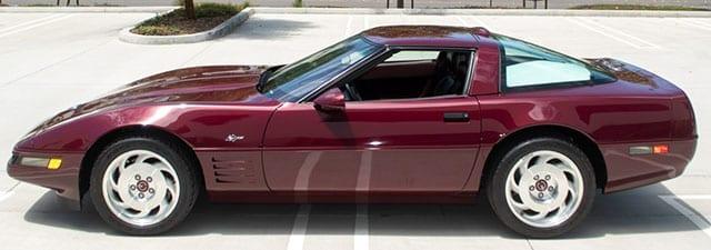 1993 corvette 40th anniversary zr 1 coming 1