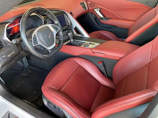 2019 corvette white zr 1 interior 1