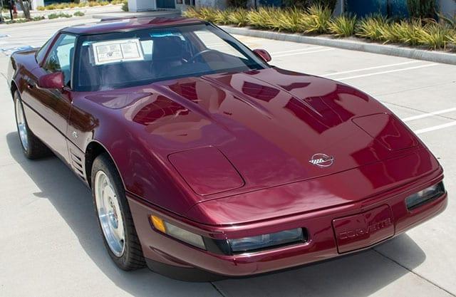 1993 corvette 40th anniversary zr 1 exterior 1