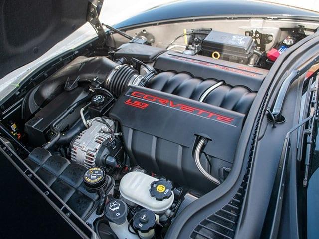 2008 black corvette indianapolis 500 pace car coupe motor 1