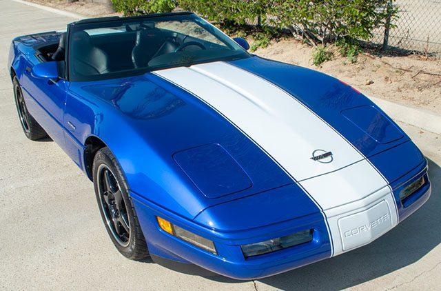 1996 blue grand sport convertible exterior 1