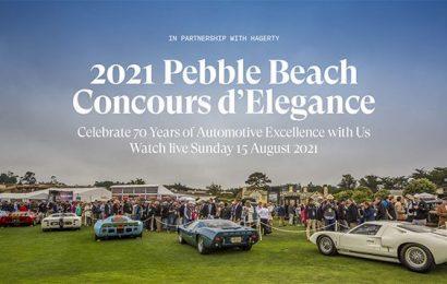 Pebble Beach Automotive Week!